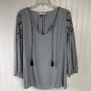 Old Navy The Tunic Shirt striped size M NWT